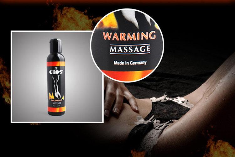 dầu massage làm nóng cơ thể xuất sứ Đức