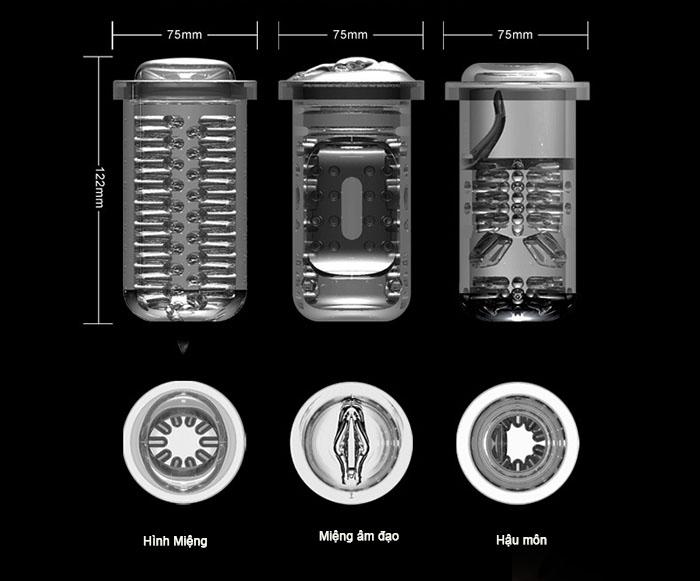 máy bú cu cao cấp với các loại hình thù