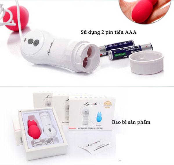 máy rung kích thích âm vật 2 pin AAA