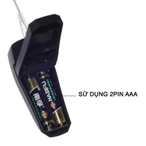 trứng rung mini 2 pin AAA