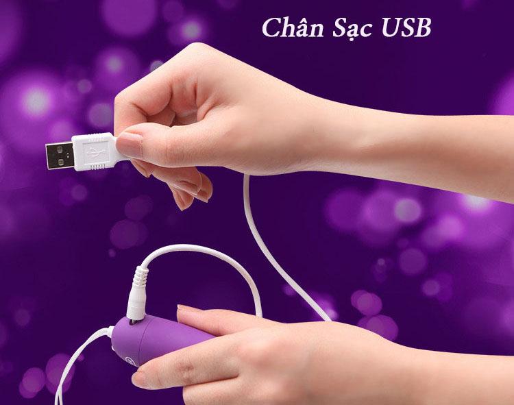 trứng rung tình yêu durex sạc USB