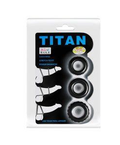 Vòng titan chống xuất tinh sớm bao bì sản phẩm