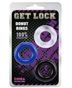 Vòng silicon chống xuất tinh sớm Get Lock Donut Ring
