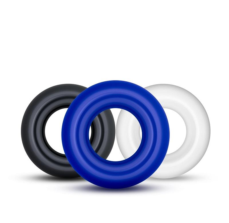 Vòng silicon chống xuất tinh sớm bộ 3 vòng với 3 màu sắc