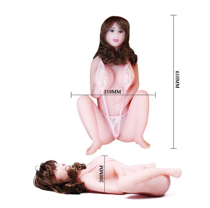 Búp bê tình dục nữ dành cho nam kích thước sản phẩm