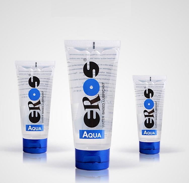 Gel bôi trơn gốc nước nổi tiếng của Đức Eros Aqua hiệu quả trơn mượt lâu dài