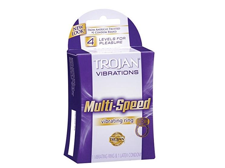 Vòng rung đeo dương vật Trojan Multi Speed kéo dài thời gian quan hệ