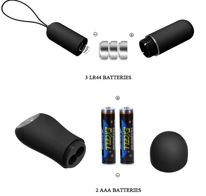 pin sử dụng cho quần lót rung có điều khiển từ xa