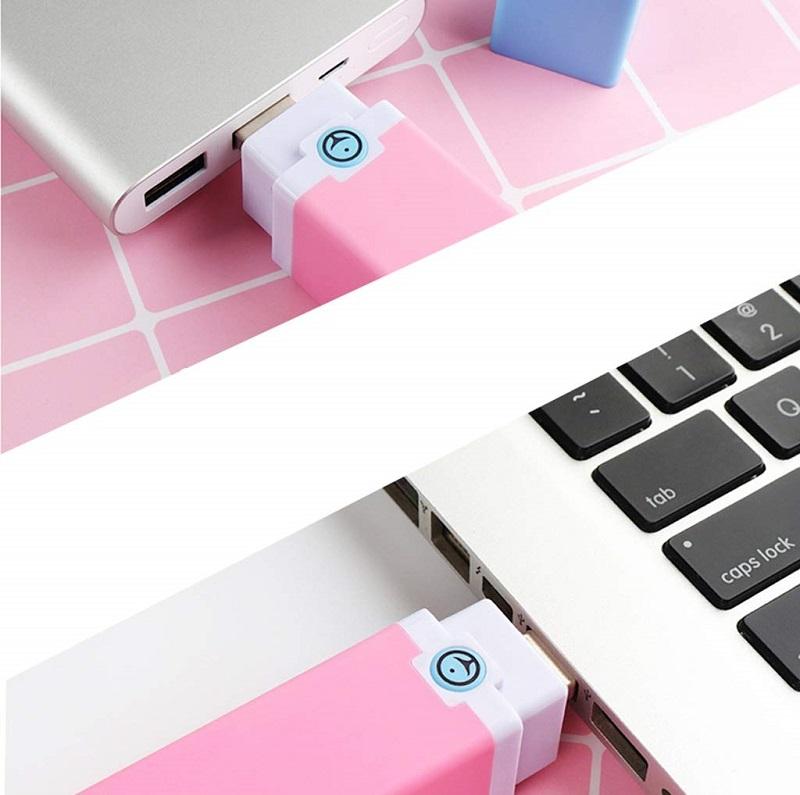 máy rung điểm g mini hình thỏi son có thể cắm vào máy tính như chiếc usb thông thường
