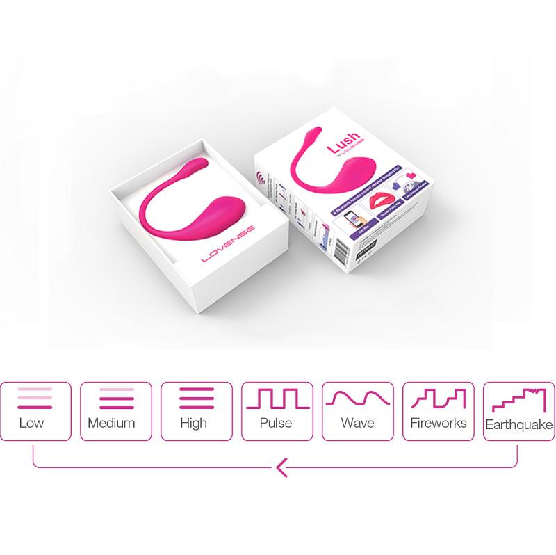 Lovense Lush – Trứng rung cao cấp điều khiển bằng Mobile, Bluetooth, Internet