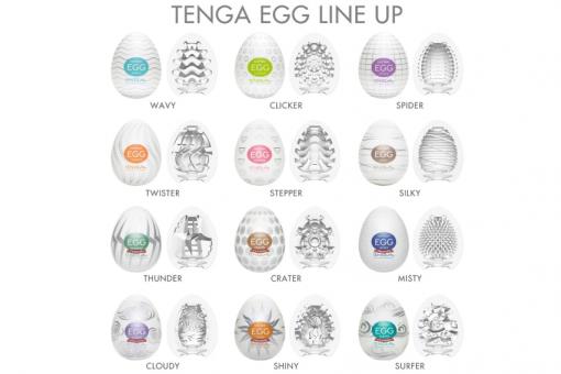 tenga egg line up