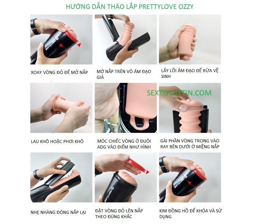 hướng dẫn sử dụng prettylove ozzy